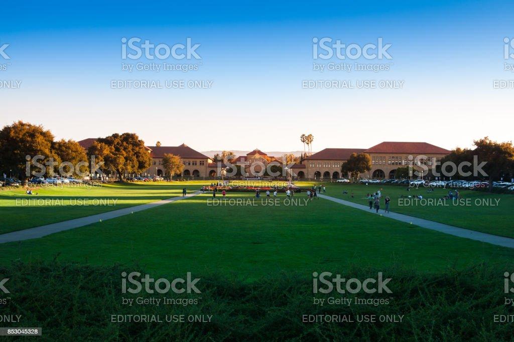 Stanford University. Palo Alto, California - foto stock
