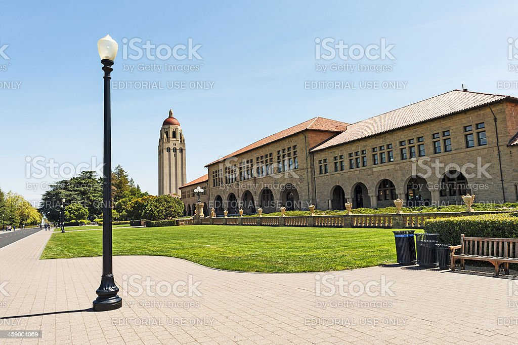 Stanford Views stock photo