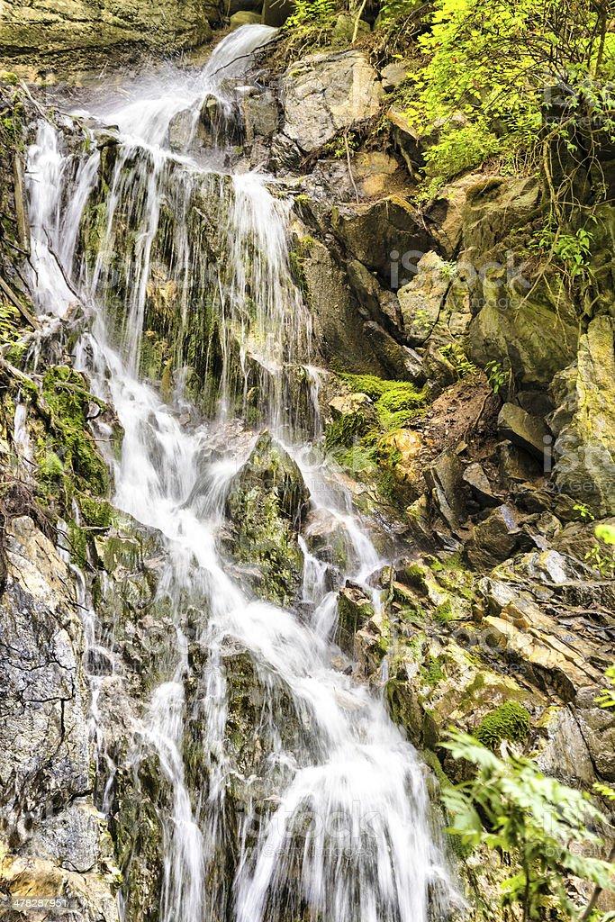 Stanghe waterfalls - Racines royalty-free stock photo
