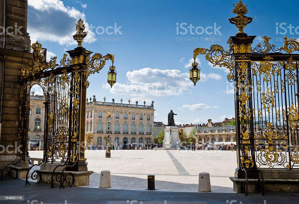 Stanislas square in Nancy royalty-free stock photo