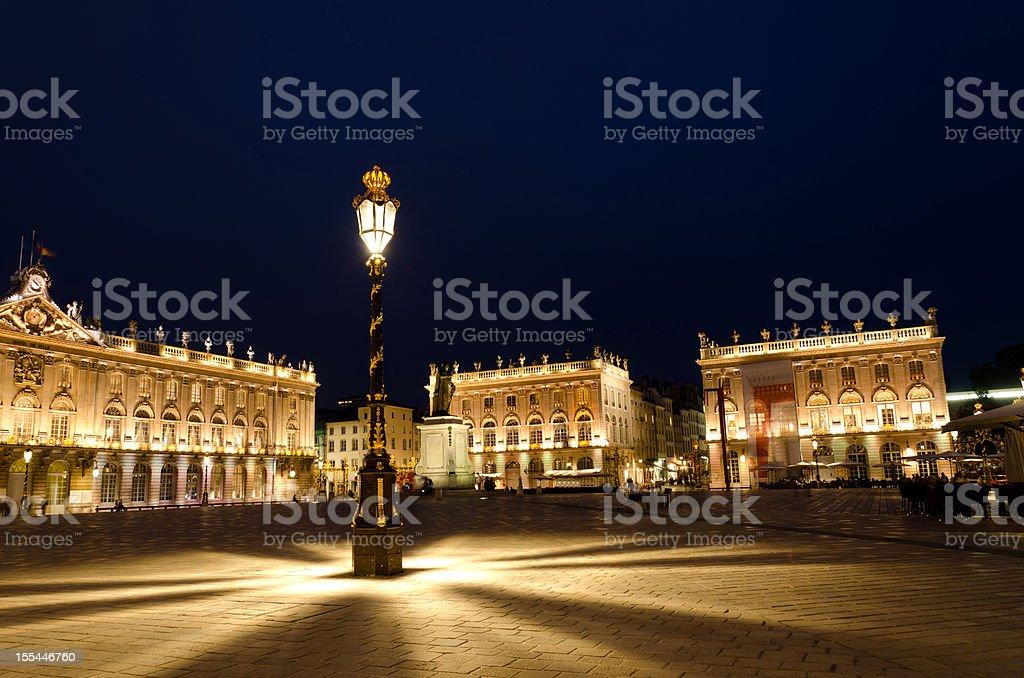 Stanislas square royalty-free stock photo