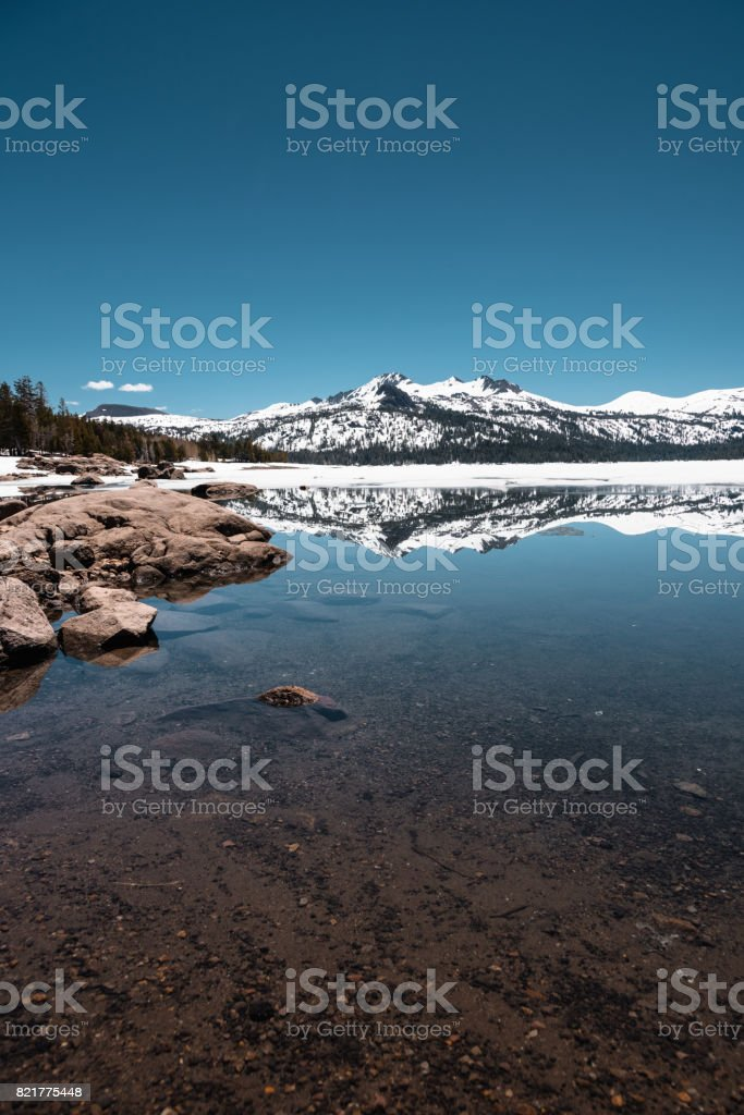 Stanislaus National Forest view stock photo