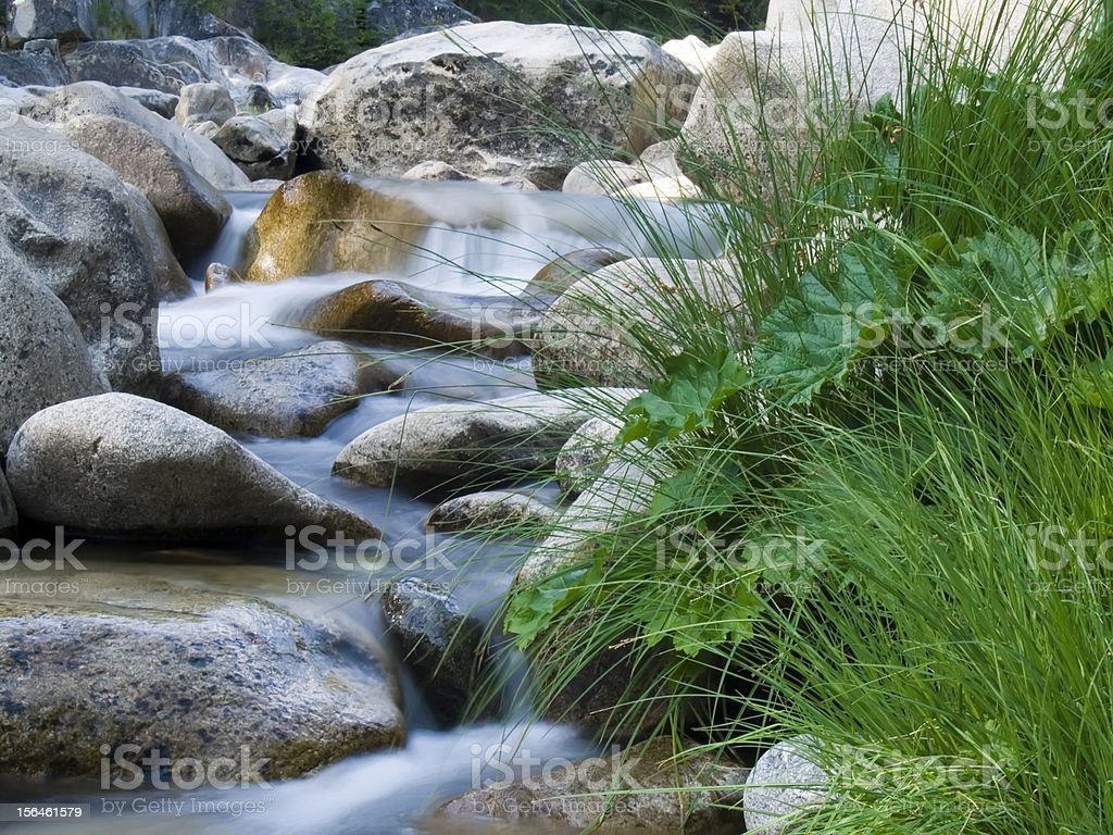 Stanislaus  River stock photo