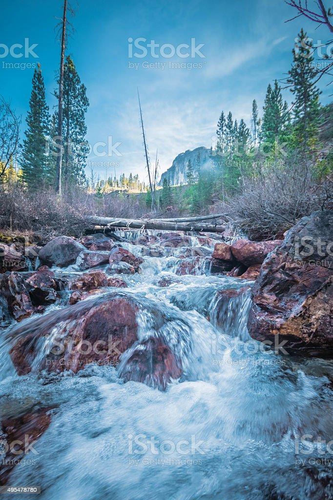 Stanley Creek stock photo
