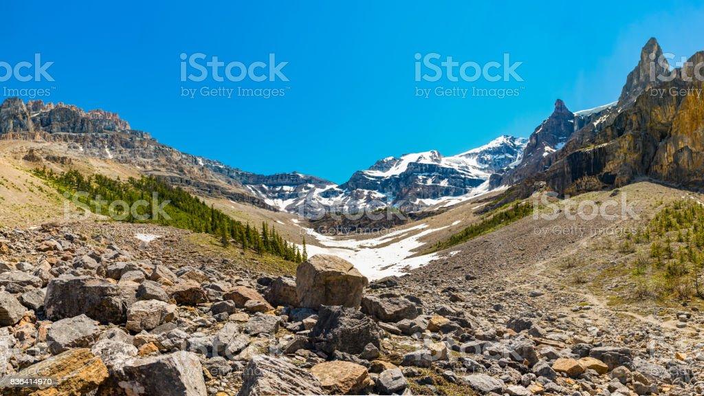 Stanley Glacier stock photo