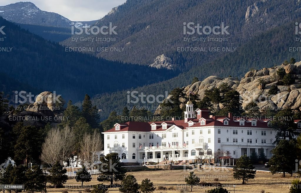 Stanley Hotel, Estes Park royalty-free stock photo