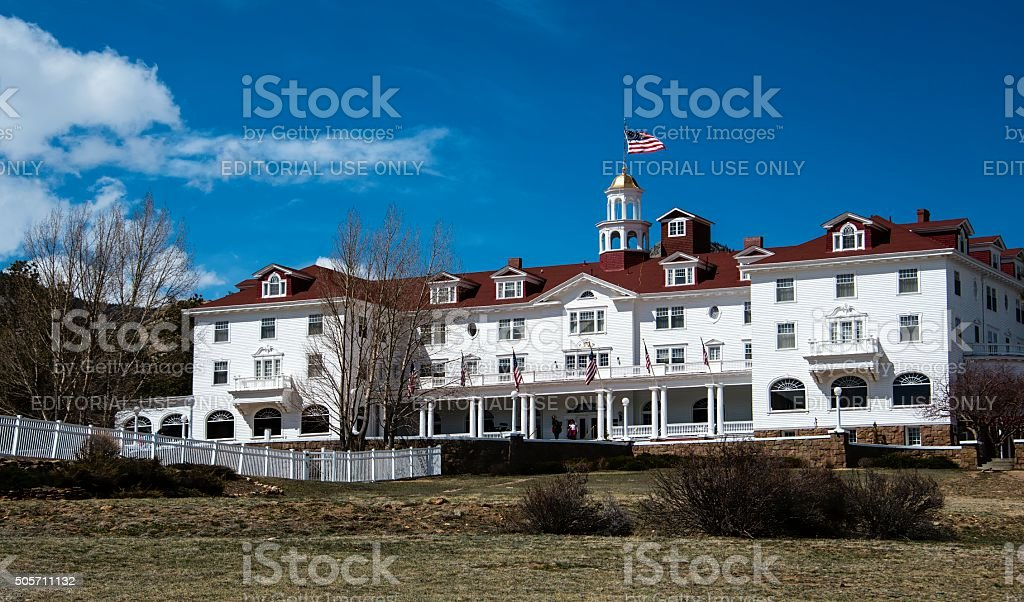 Stanley Hotel, Estes Park stock photo