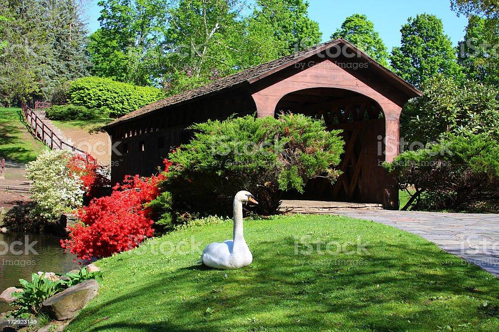 Stanley Park Westfield, Massachusetts royalty-free stock photo