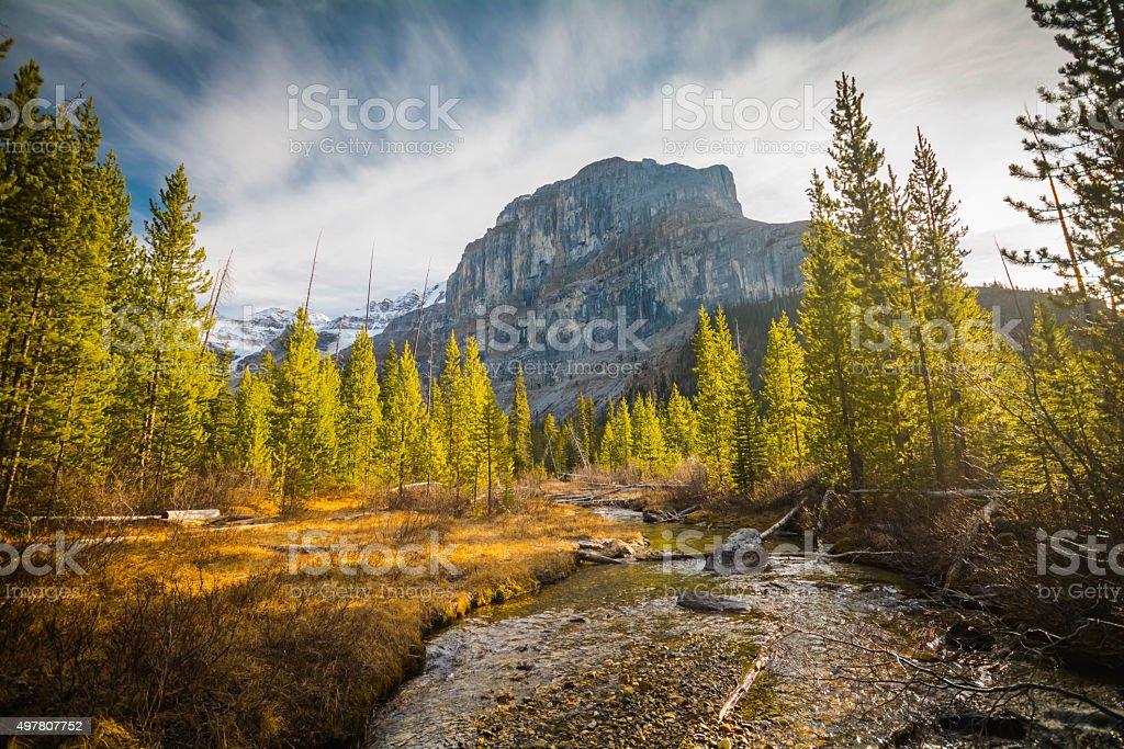 Stanley Peak stock photo