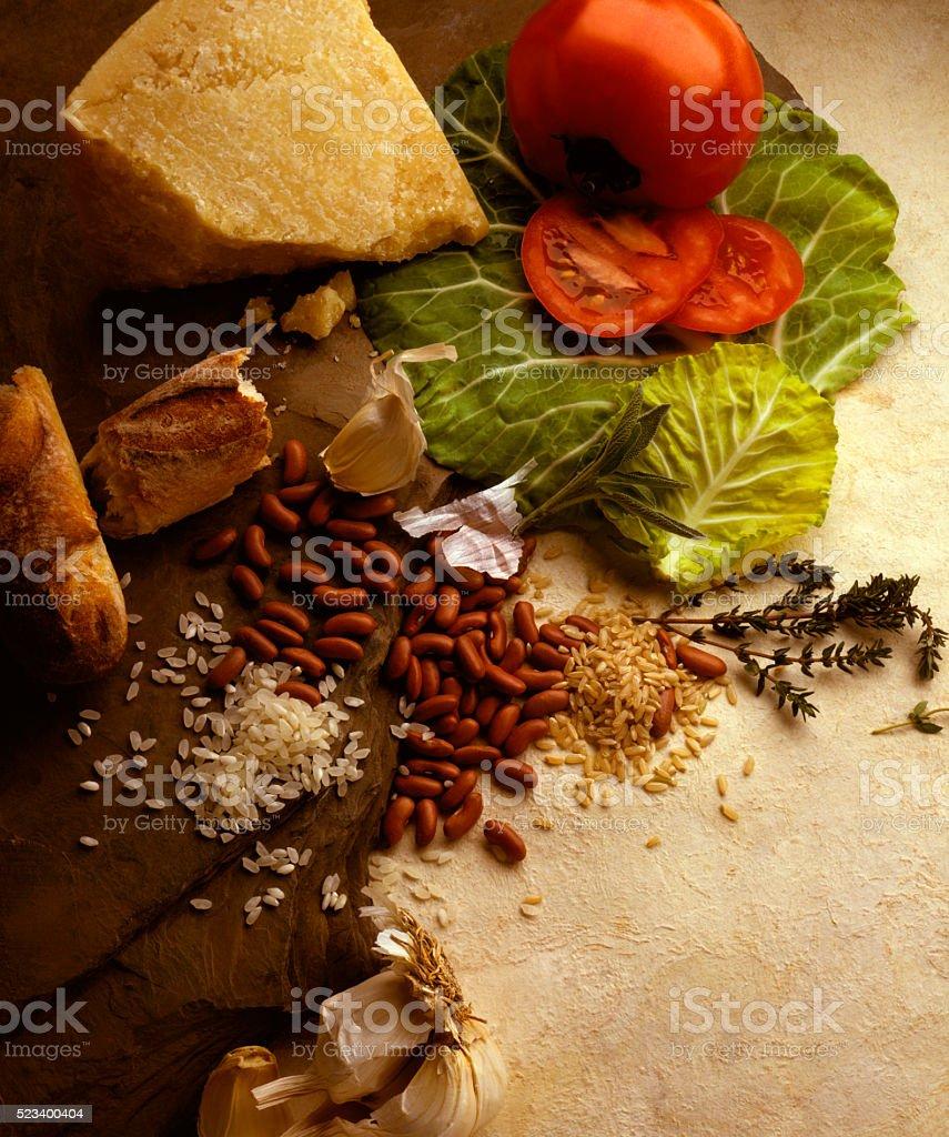 Staple Foods stock photo