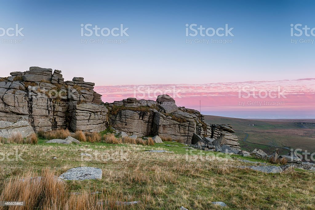 Staple Tor stock photo