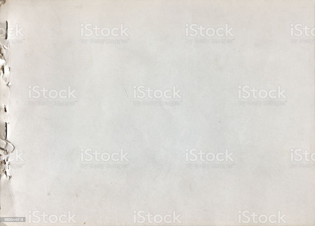 Stapled old paper background royalty-free stock photo