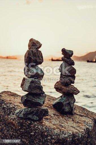 istock Stapled stones 1269510052
