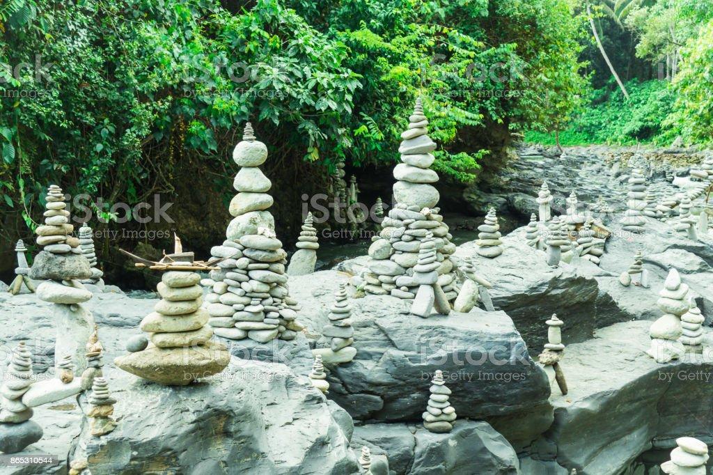 Stapled Stones stock photo