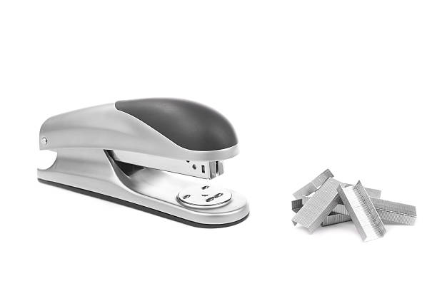 Stapler and supplies stock photo