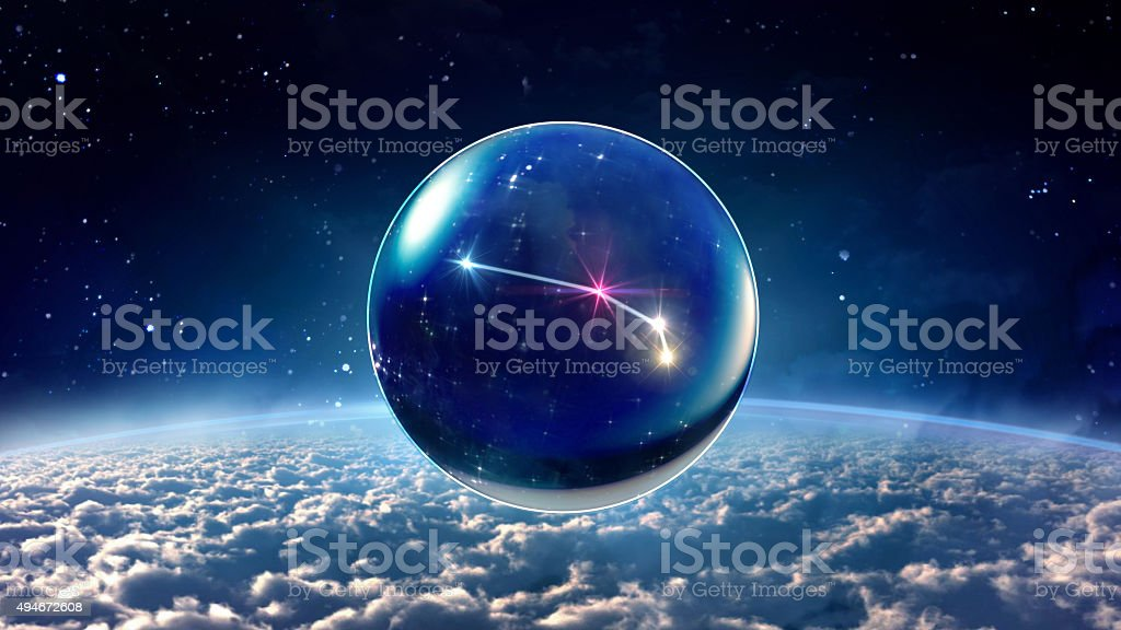 star 1 Aries Horoscopes Zodiac Signs space stock photo