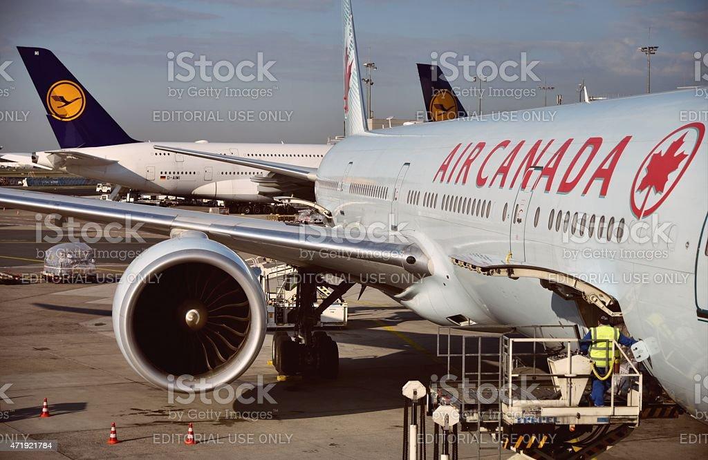 De Star Alliance, partenaire Air Canada et Lufthansa réunion à Francfort - Photo