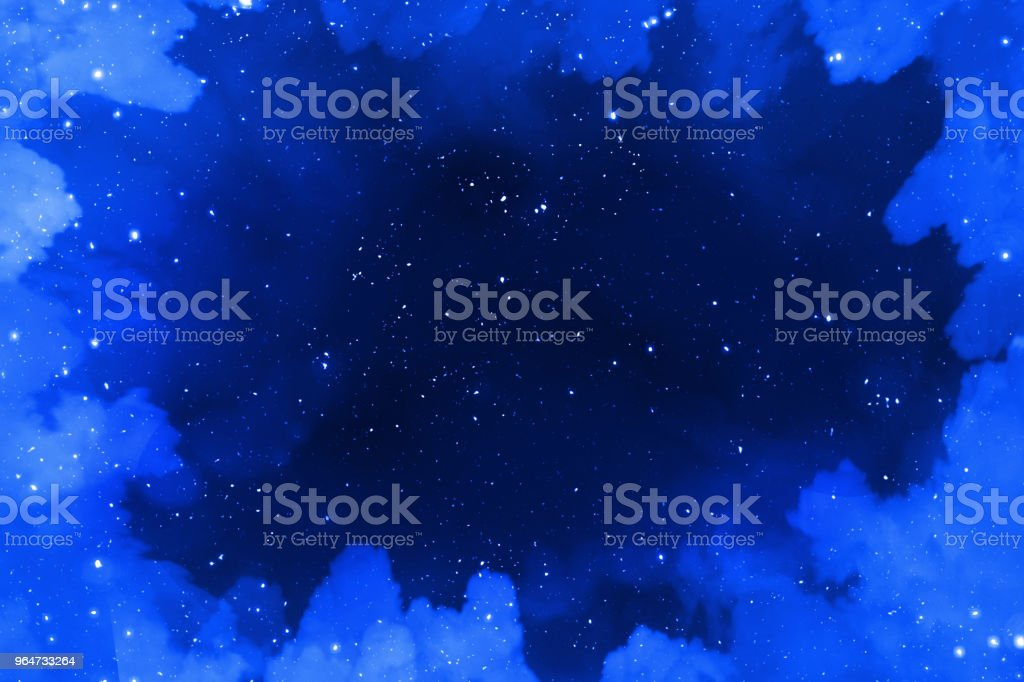 Star and nebular and galaxy background royalty-free stock photo