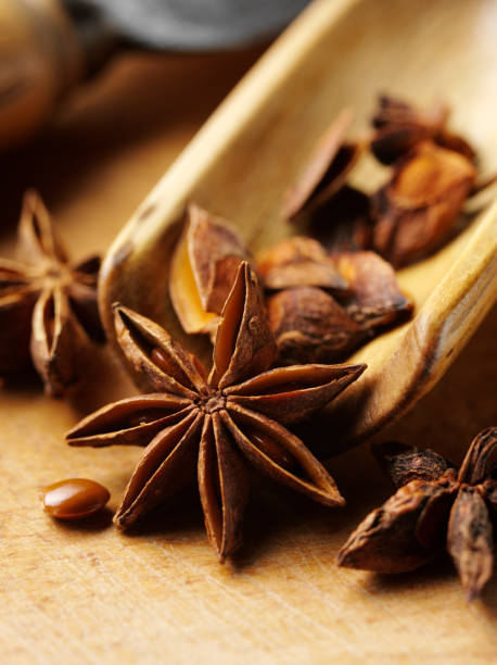 Star Anise Spice stock photo