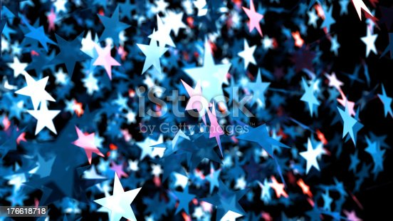 istock Star background 176618718