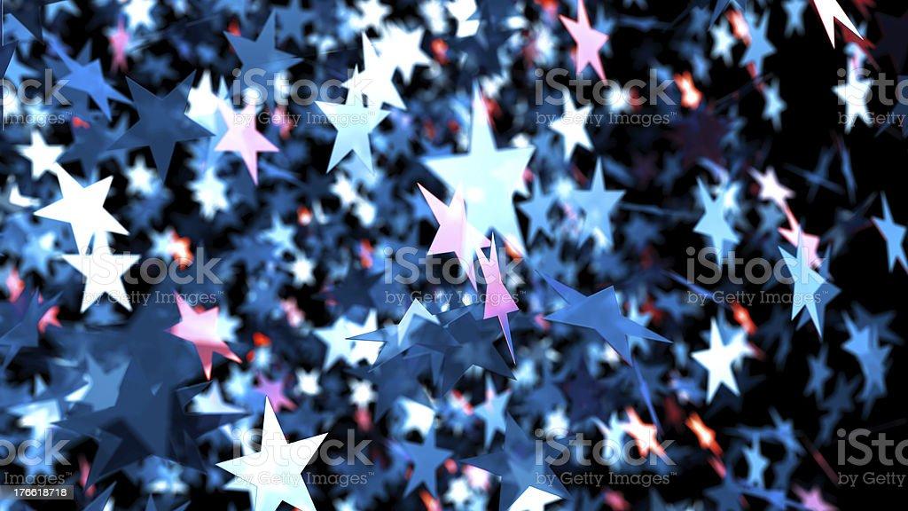 Star background stock photo