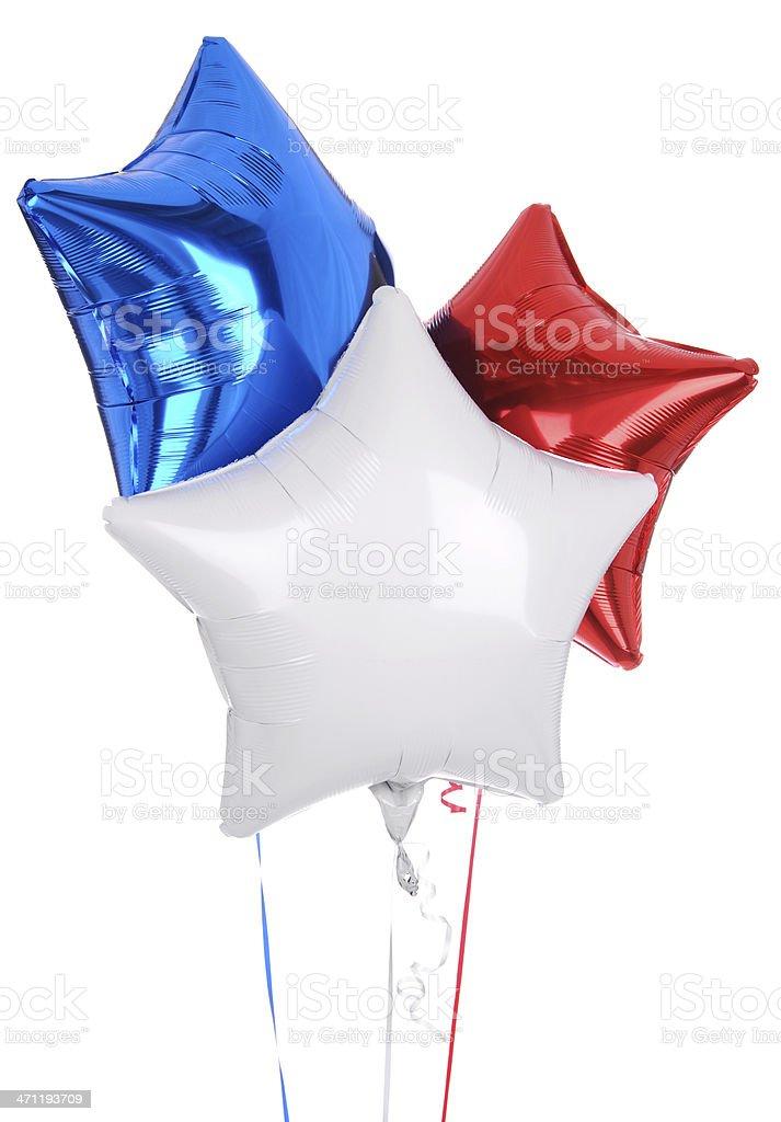 Star Balloons (XXXL) stock photo