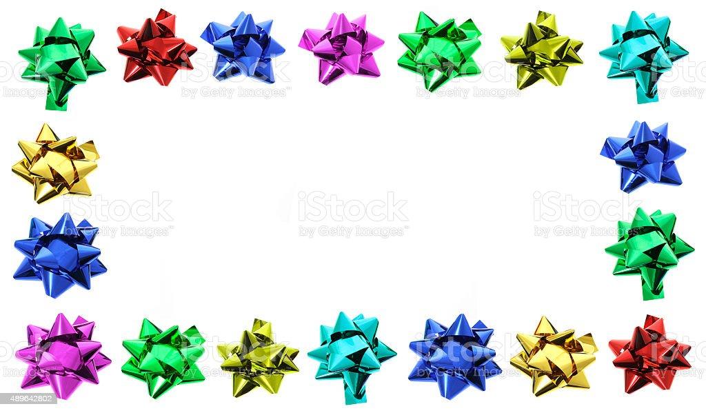 Star Bows stock photo
