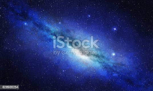 istock star cluster and plasma in blue space background 628935254