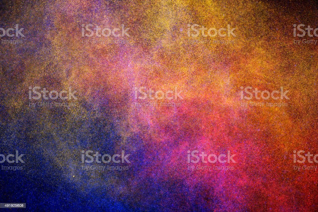 Star dust stock photo