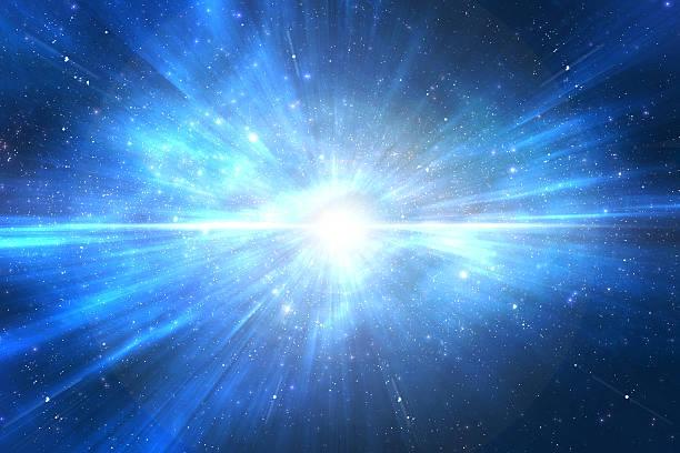 esplosione di stelle nello spazio - big bang foto e immagini stock