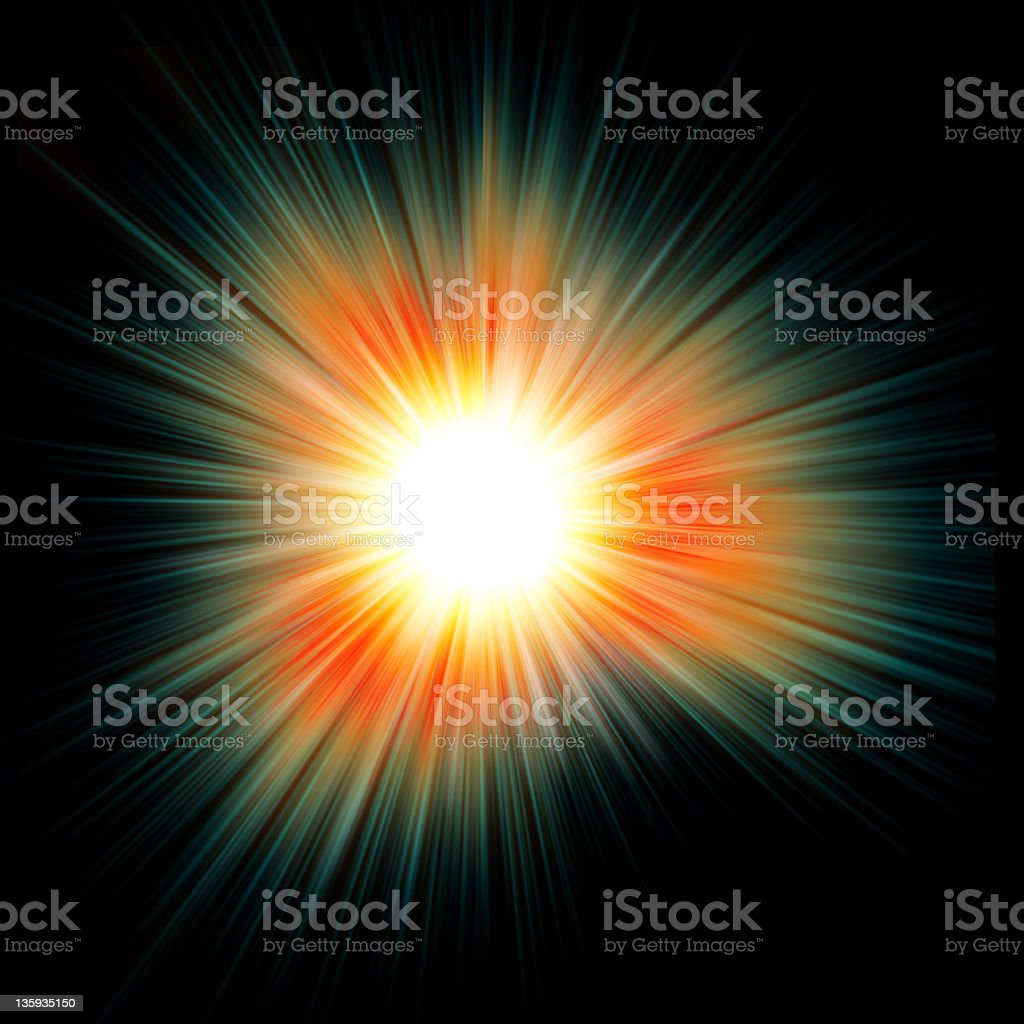 star explosion royalty-free stock photo