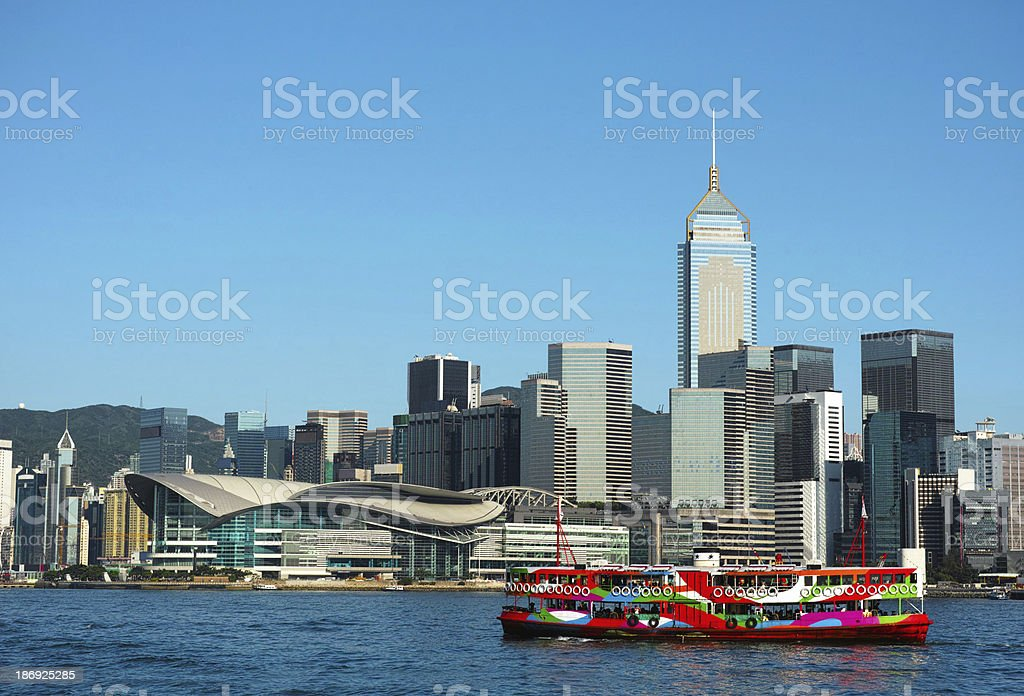 Star Ferry Hong Kong stock photo