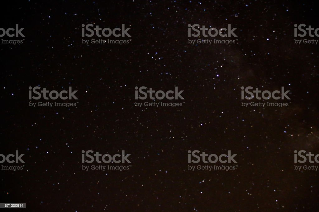 Star Filled Sky stock photo