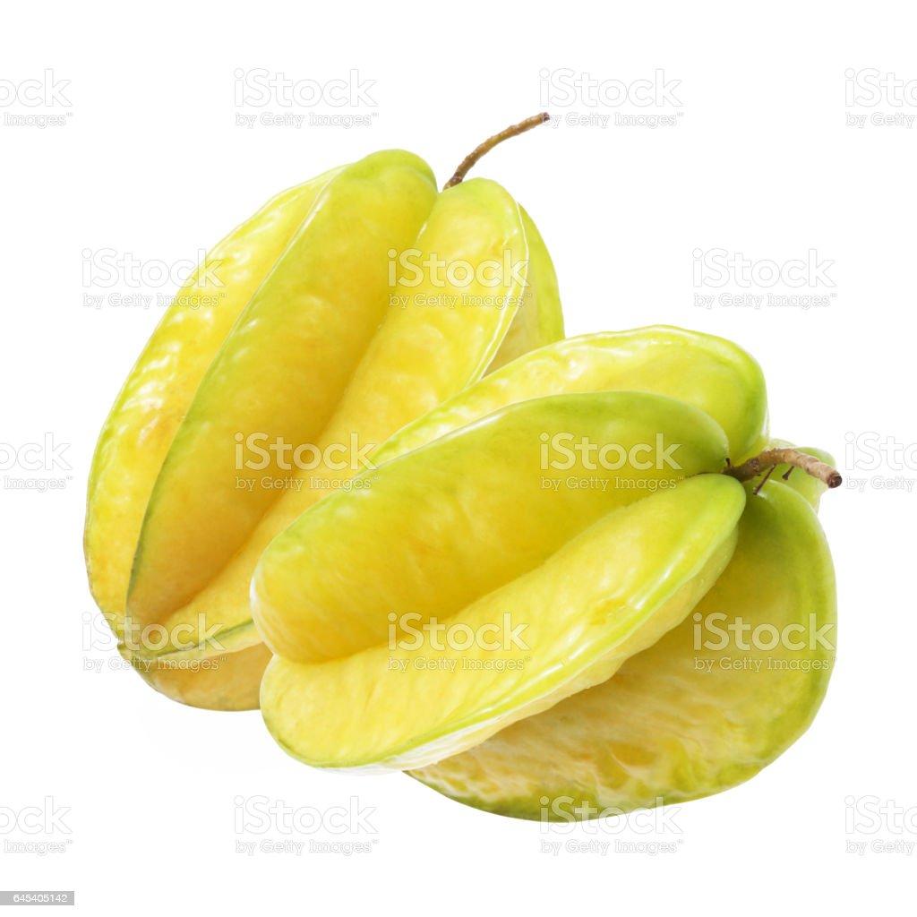 Star Fruit 09 stock photo