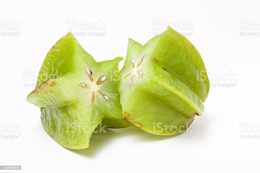 Star Fruit royalty-free stock photo