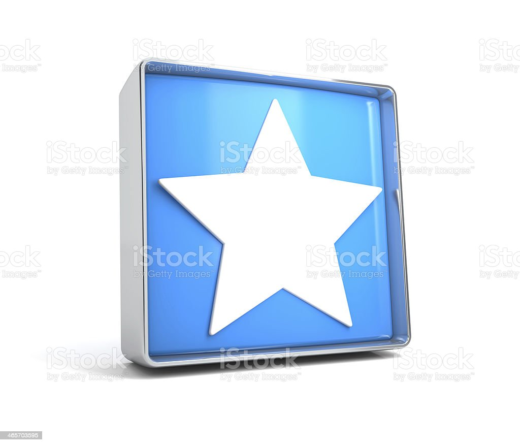 star icon royalty-free stock photo