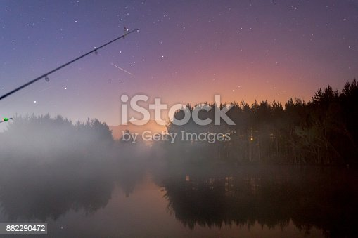 653506436istockphoto star night view and fog 862290472