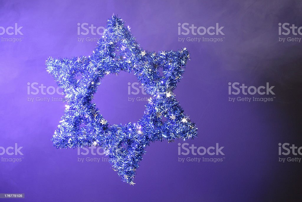 Star of David royalty-free stock photo