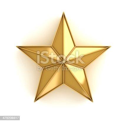 istock Star of gold 475209317