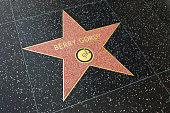 Los Angeles, USA - April 18, 2014: Berry Gordy star on Hollywood Walk of Fame in Hollywood, California. This star is located on Hollywood Blvd. and is one of over 2000 celebrity stars embedded in the sidewalk.
