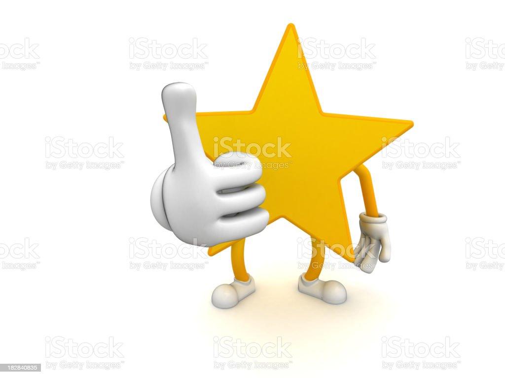 Star royalty-free stock photo