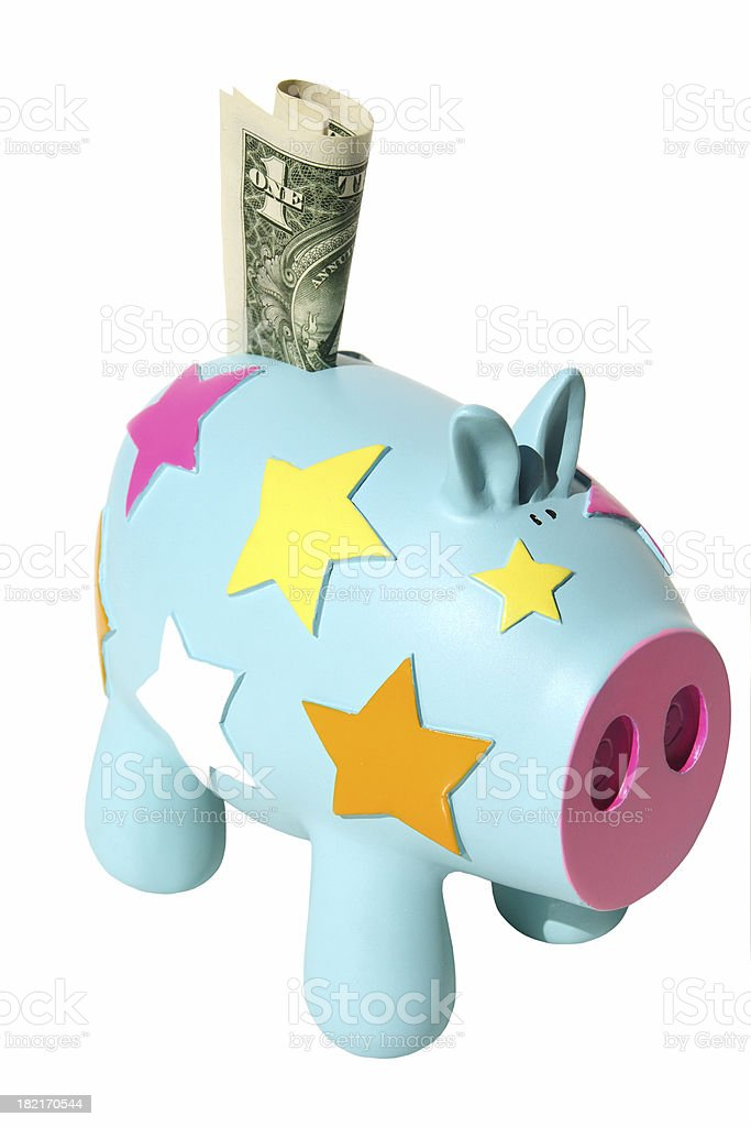 star saver isolated royalty-free stock photo