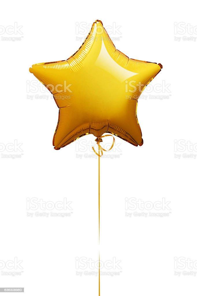 Balão de forma de estrela - fotografia de stock