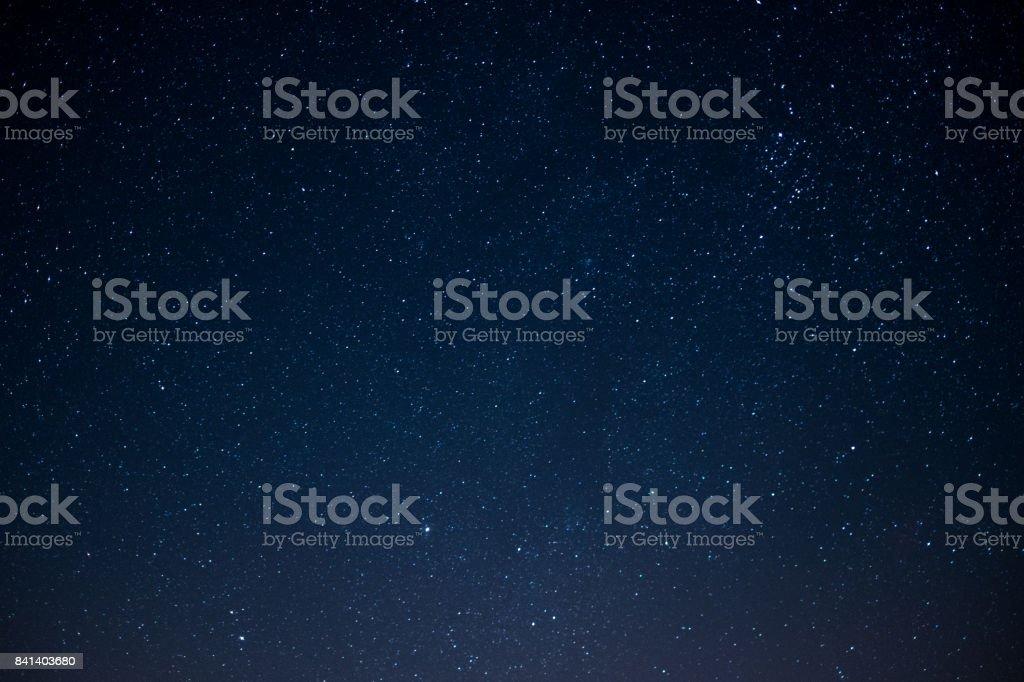 공간 배경, 밤에 별 하늘 - 로열티 프리 0명 스톡 사진