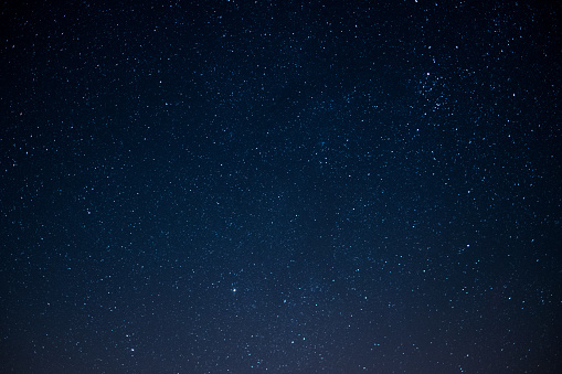 star sky at night - space background