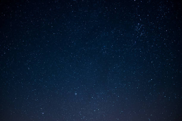 star sky at night , space background stock photo