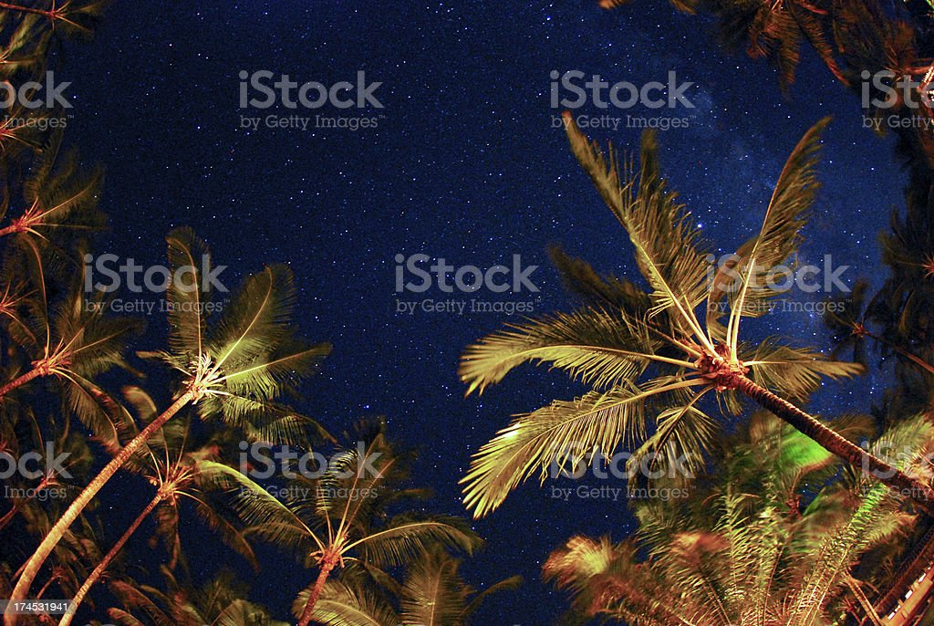 star sky stock photo