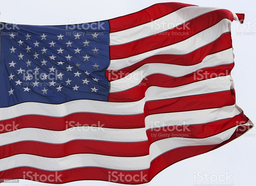 star spangled banner royalty-free stock photo
