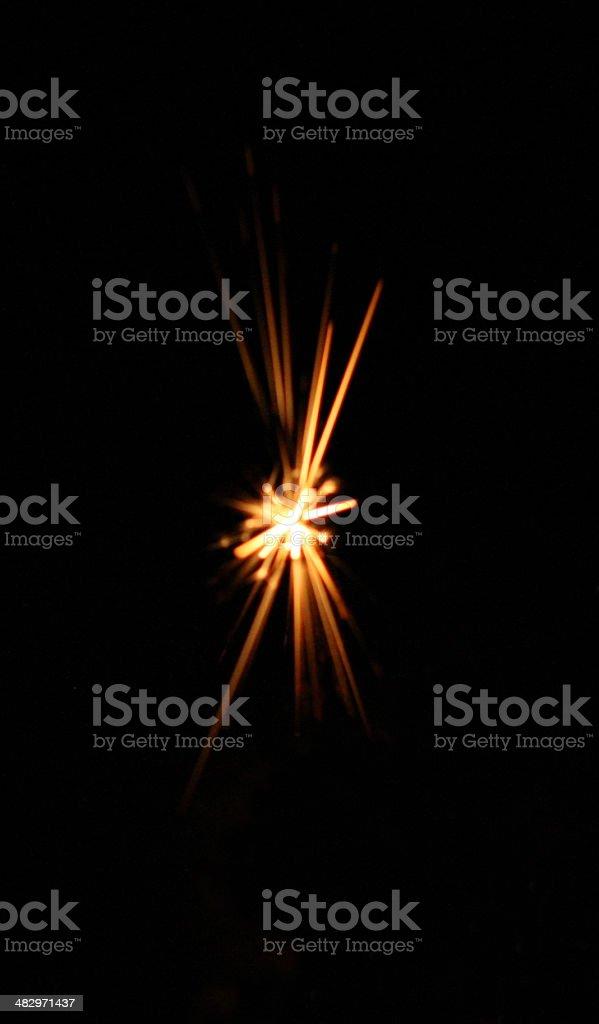 star spark stock photo