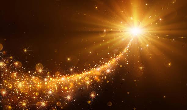 Star Sparkling Christmas stock photo